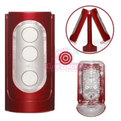 Мастурбатор Hi-end Tenga Flip Hole Red